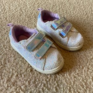 Iridescent Chunky Glitter Shoes